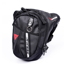 Hot selling Black Drop Leg Motorcycle racing Cycling Fanny Pack Waist Belt Bag