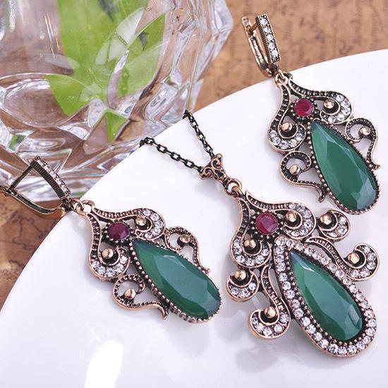Turkish Jewellery Wholesale Emerald Turkish Jewellery
