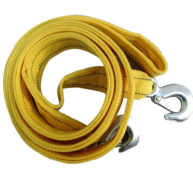 Rescue rope to pull a cart rope car tow rope 5 t 4.0 m double- thick rope traction(China (Mainland))