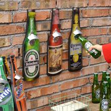 Barra de herramientas retro americana botella de cerveza abridor Bar restaurante creativo tapices artesanias copa barware 40 cm(China (Mainland))