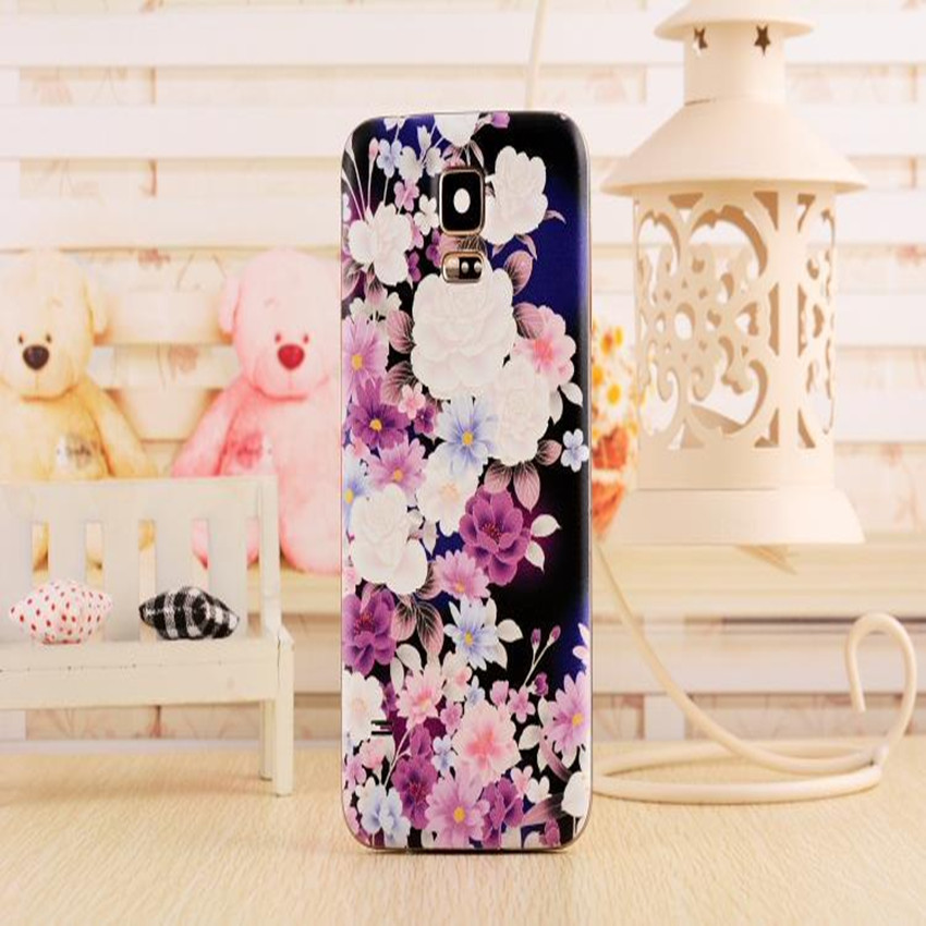 3D relief original design back cover Samsung Galaxy S4 case i9500 door housing protective cell phone battery Cover - YUN-DA Technology Co.,Ltd store