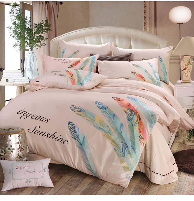 fine couette ensembles promotion achetez des fine couette. Black Bedroom Furniture Sets. Home Design Ideas