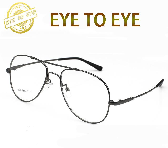 Round memorymetal frame Korean eyeglasses frame men vintage fashion brand designer glasses clear lenses prescription oculos 1612(China (Mainland))