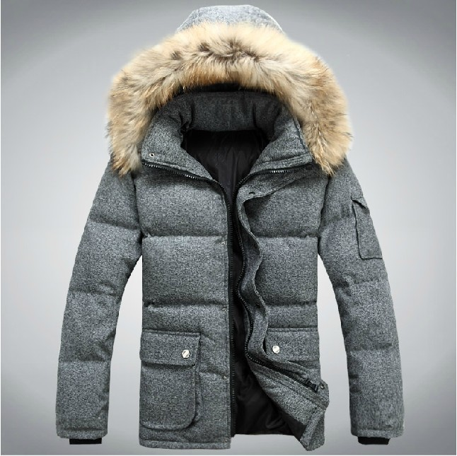 Down Jacket Winter - Coat Nj