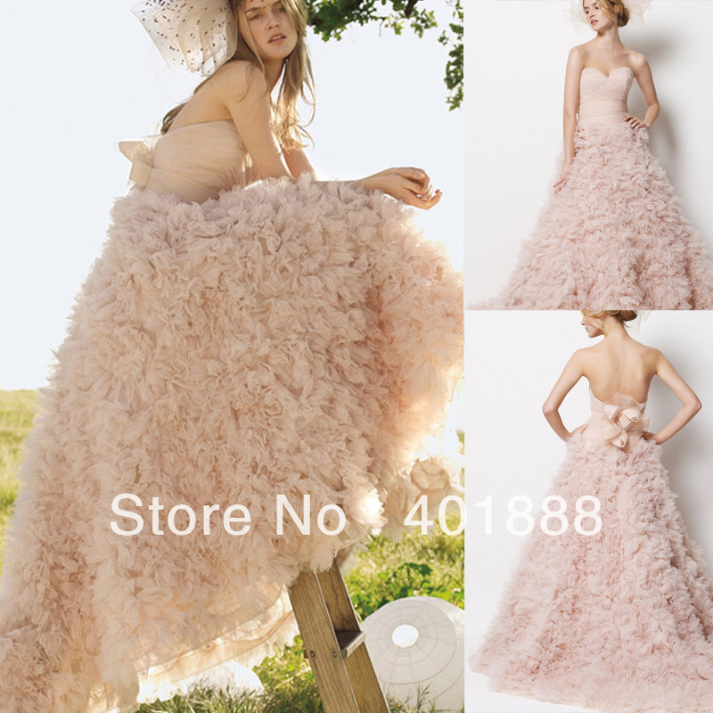 Plus Size Wedding Dresses In Pink - Plus Size Prom Dresses