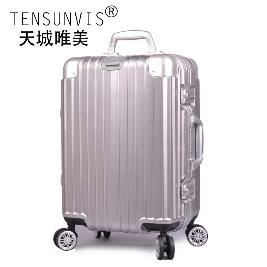 Tensunvis trolley aluminum frame luggage travel bag universal wheels - Guangzhou Boro Enterprise Co.,Ltd. store