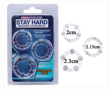 Cock Ring,3pcs/unit Sex Delay Ring,Time Delay Penis Extender Rings,Delayed Ejaculation Rings Sex Toys for Men,Adult Sex Products