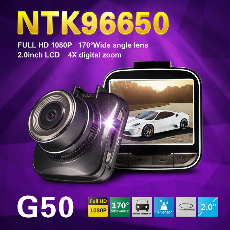 Mini car DVR super wide-angle 170 degrees HD 1080P car driving recorder 2.0 inch high resolution LCD, can watch while shooting.(China (Mainland))