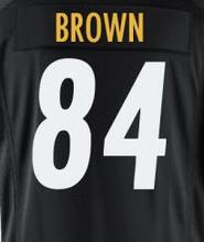26 Le'Veon Bell 36 Jerome Bettis 50 Ryan Shazier 43 Troy Polamalu Antonio Stitched Brown Sport Ben Jersey Roethlisberger Jerseys(China (Mainland))