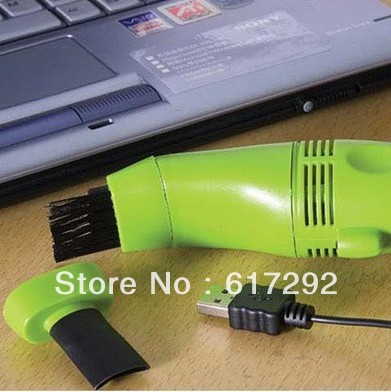 Mini Order $8(mixed) Free shipping Dust Cleaner for Laptop PC Computer Keyboard USB Vacuum