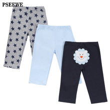 3 pieces/lot Baby Pants Cotton Autumn Lovely infant pants Newborn baby boy trousers Baby Clothing 0-12 Months Baby girl pants (China (Mainland))