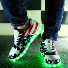 Led shoes  women casual shoes 2016(China (Mainland))