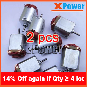 Wholesale 2pcs 130 Toy Motor 3V Micro Motor 12500-18000rpm Dc Mini Motor 3v 1.31Nm For Four Wheel Car Xpower(China (Mainland))