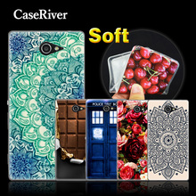 Buy CaseRiver Soft Silicone Case Cover Sony Xperia M2 S50h D2303 Dual Sim D2302, Case Sony Xperia M2 M 2 Phone Case Cover for $1.21 in AliExpress store
