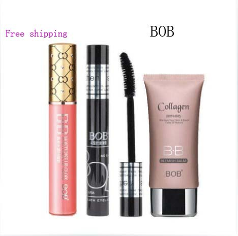 New arrival 4Pcs/Set Cosmetic Makeup set Brand Makeup Cosmetic gift Free shipping(China (Mainland))
