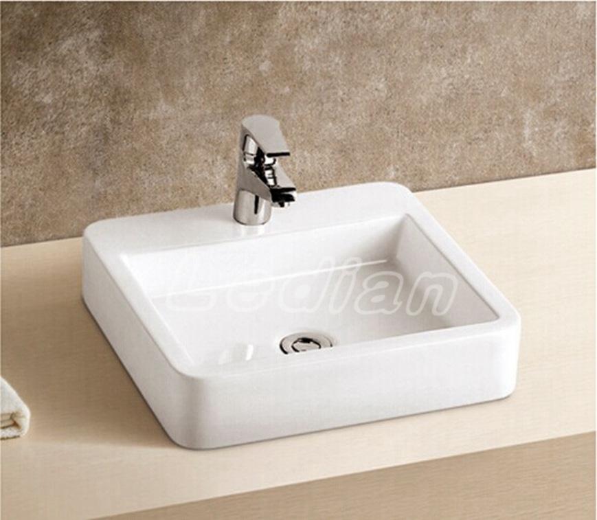 Sanitary ware ceramics in Chaozhou music code above counter basin bathroom wash basins art basin basin 9034(China (Mainland))