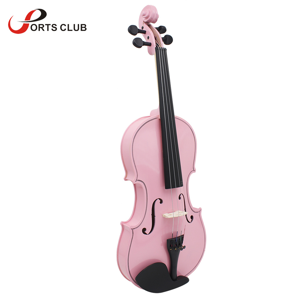 4/4 Violin Fiddle Stringed Instrument Musical Toy for Kids Beginners High Quality Basswood Body Steel String Arbor Bow Rosin(China (Mainland))