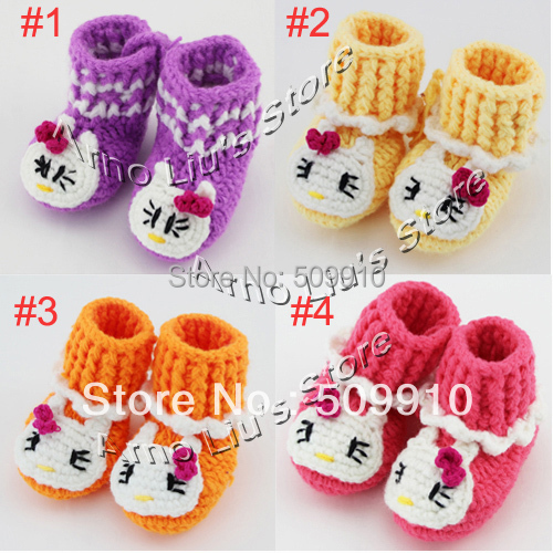 Free Crochet Pattern For Hello Kitty Baby Shoes Legitefo For