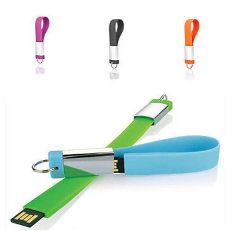 Key Chain Silicone Wristband USB 2.0 Memory Flash Stick Pen Drive 4GB 8GB 16GB 32GB(China (Mainland))