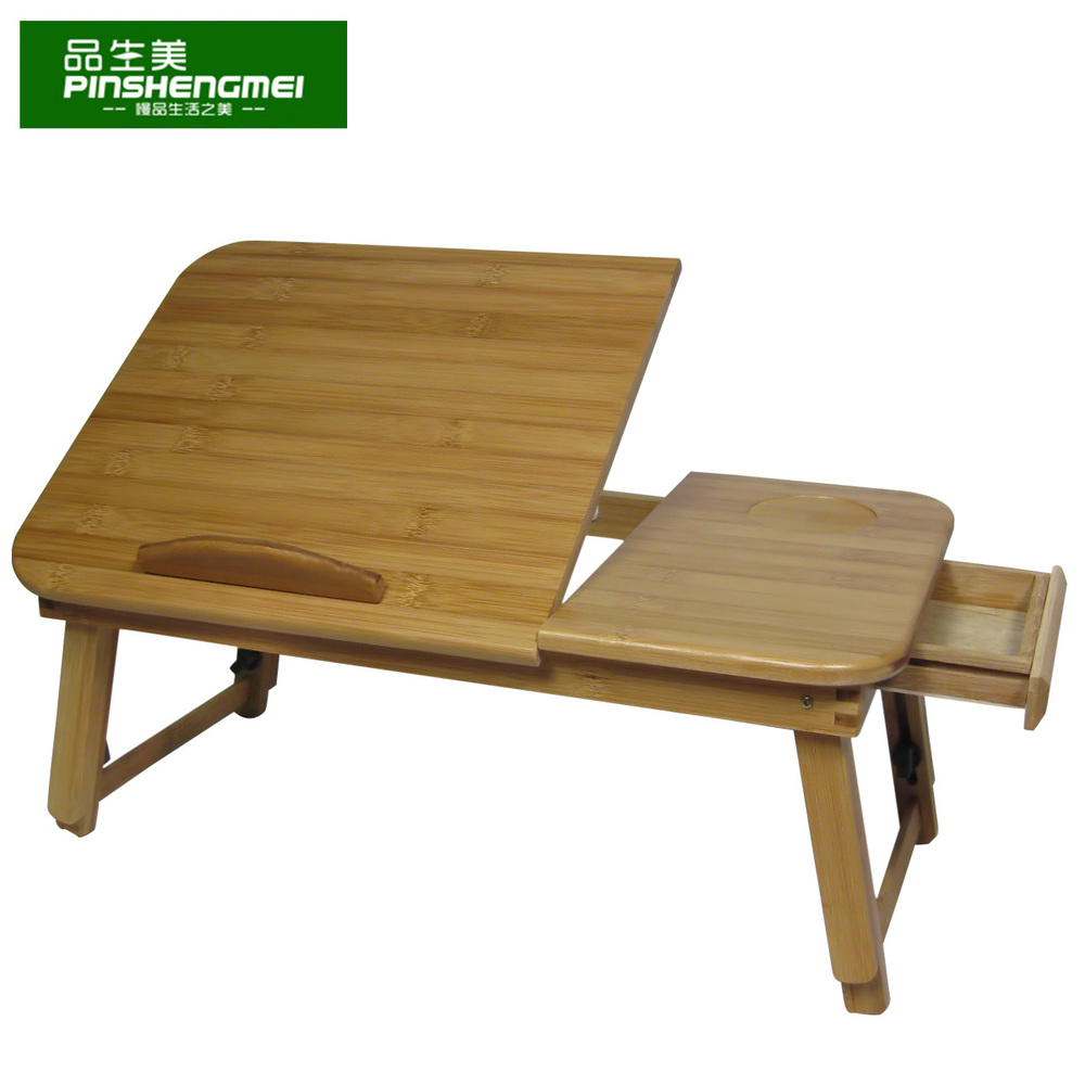 Health and beauty product laptop table bed with bed table for Small folding desk table