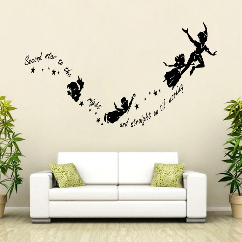 hot sale 2015 wall decal diy decoration fashion romantic wall sticker wall stickers home decor. Black Bedroom Furniture Sets. Home Design Ideas