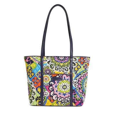 VB small PU zipper one shoulder handbag/shopping bags Small Trimmed Vera Tote(China (Mainland))