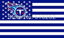 Buy Tennessee Titans stripe Flag 3x5 FT Banner 100D Polyester NFL flag 159, free for $6.22 in AliExpress store
