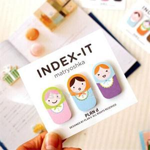 Hot Sale New Cute Sticker Post It Bookmark For Girl Point It Memo Cartoon Printed Sticky Notes Drop Shipping(China (Mainland))