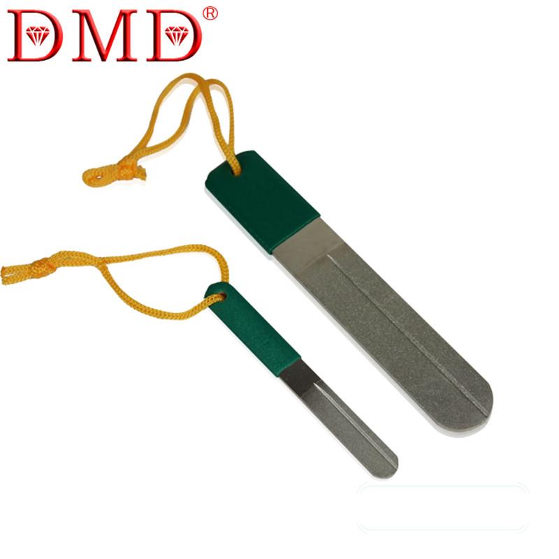Hot Sale DMD Fishing Diamond Hook File Hook Hone Sharpening Grooves Free Shipping L150mm(China (Mainland))