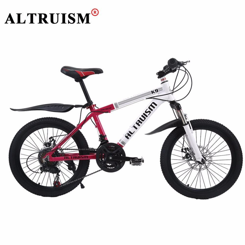 ALTRUISM K9 Children's Bike 21 Speed 20 Inch Aluminum Full Suspension Frame Mens Kid's Bicycle Double Disc Brake(China (Mainland))