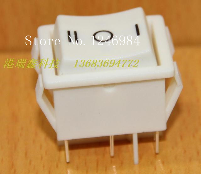 [SA]Power trigger switch R5 -Taiwan group Rocker white AC double reset large rocker switch--50pcs/lot<br><br>Aliexpress