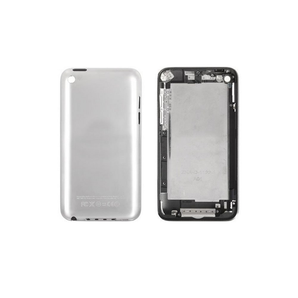 10pcs/lot For iPod touch 4 back cover+ frame housing assembly white/balck 8GB/16GB/32GB/64GB Free Shipping(China (Mainland))