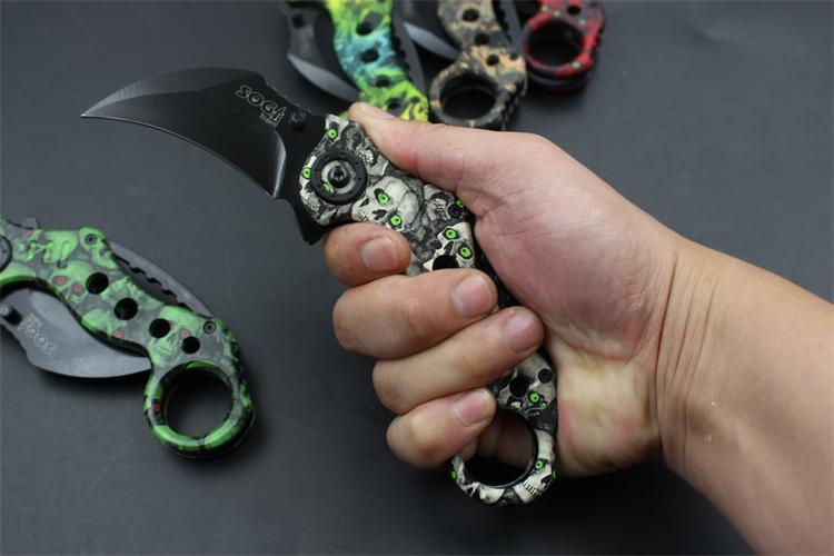 Buy GS Counter Strike Karambit Scorpion Claw Knife Sheath & Hunting Game Field Hiking Camping Jungle Wild Survival Knife cheap