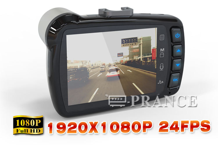 Original S6000 Car DVR 1080P + 140 Degree Wide Angle Lens  +G-Sensor + 5.0MP CMOS + HDMI/AV OUT IN STOCK