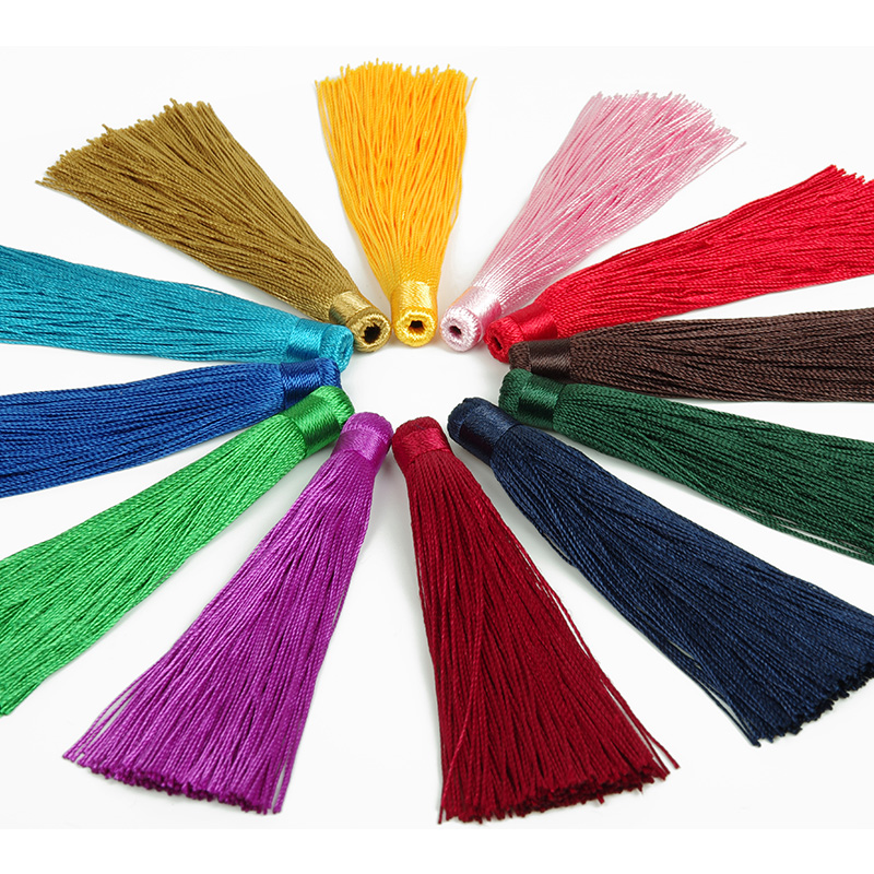 Chinese knot tassel ears auto accessories tassel Wholesale gift class tassel and colorful fringed manufacturer(China (Mainland))