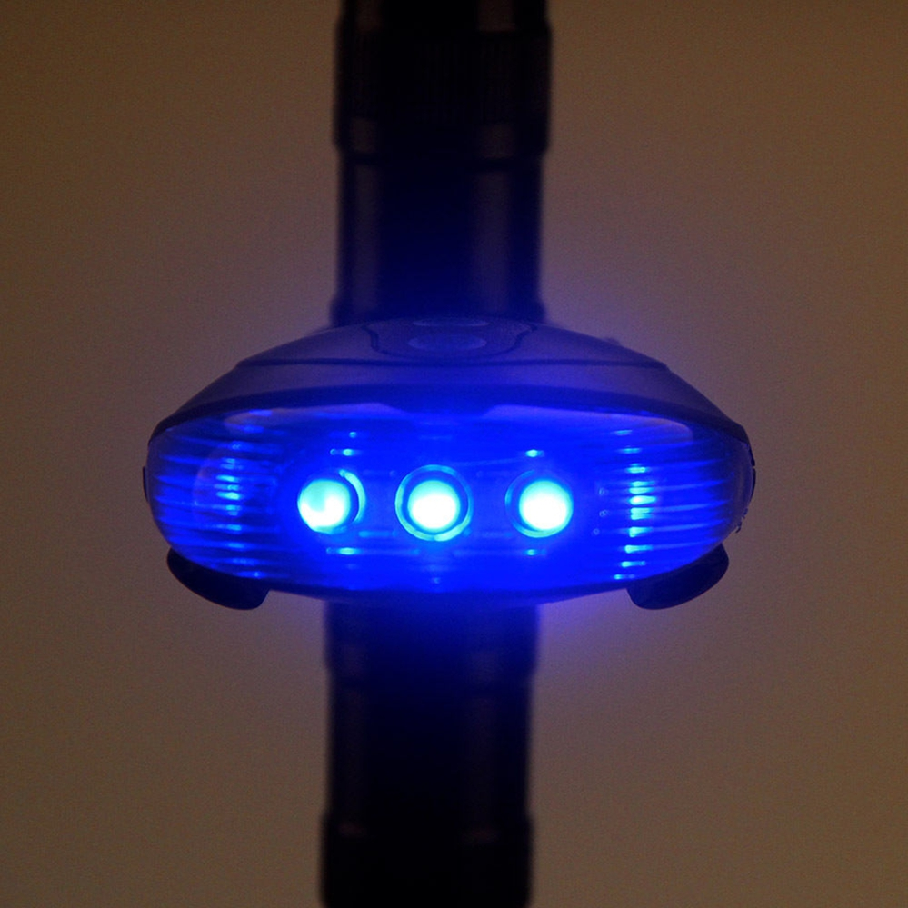 5LED+2Laser Waterproof  Led Bycicle Rear Light have 7 Cool Flash Mode Rear Bike Light Safe Warning  Bicycle Rear Light