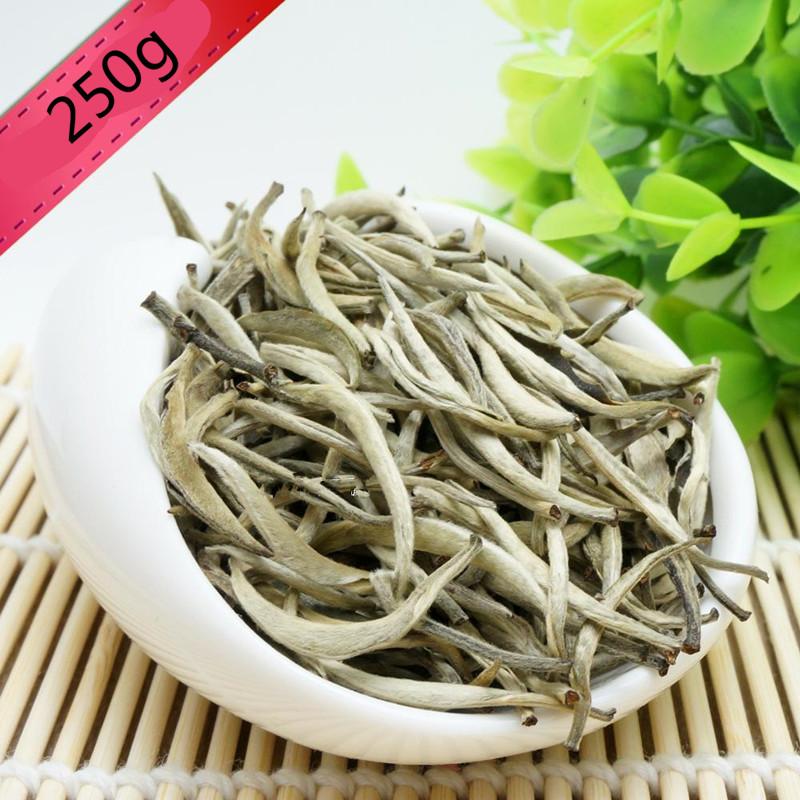 2017 Spring New 250g Organic AAAAA+ Silver Needle White Tea Bai hao Yinzhen Anti-old Tea Bai Hao Yin Zhen Chinese Tea Green Food(China (Mainland))