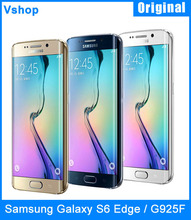 Unlocked Refurbished Original Samsung for Galaxy S6 Edge / G925F 32GBROM 3GBRAM SmartPhone 4G LTE 5.1″ Android 5.0 Octa Core