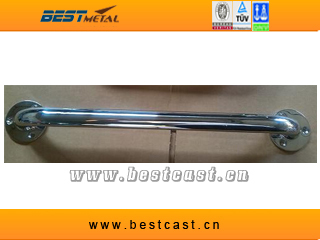 """12"""" Length 1-1/4"""" tubing 316 STAINLESS STEELMIRROR POLISHED GRAB RAILS HANDRAILS RAILINGS MARINE HARDWARE FOR BOAT AND YACHT(China (Mainland))"""