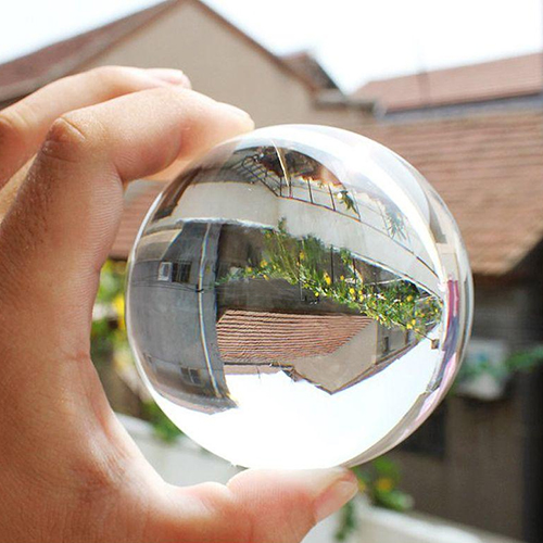 Top quality 60mm Rare Natural Quartz Crystal Sphere Clear Magic Ball Chakra Healing Gemstone 8C67(China (Mainland))