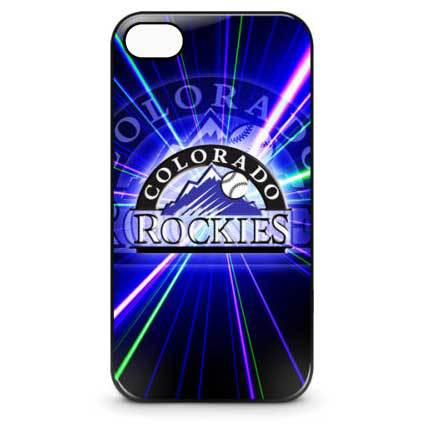 Colorado Rockies Baseball Phones Cover Case for iPhone Phone 5 and 5s(China (Mainland))