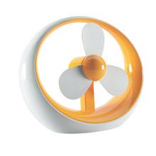 Оранжевый мягкий вентилятор сейф студент мини USB вентилятор, Студент настольная вентилятор