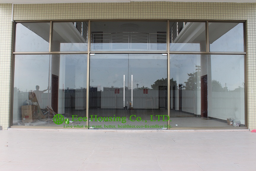 China manufacturer commercial exterior commercial frameless glass doors for Apartment, 12mm tempered glass, Mordern glass door(China (Mainland))