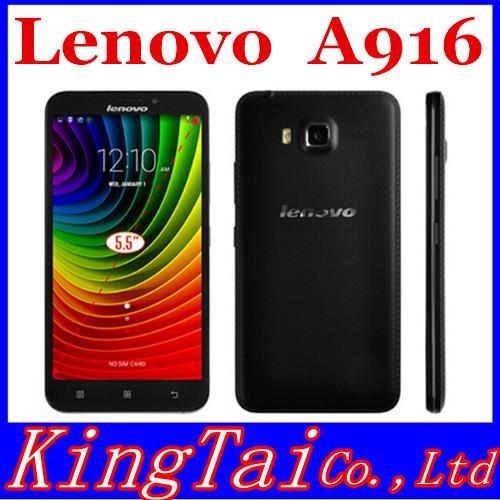 Мобильный телефон Lenovo A916 4G LTE FDD MTK6592 1 8 5,5 1280 x 720 4.4 Play мобильный телефон lenovo k3 note k50 t5 16g 4g