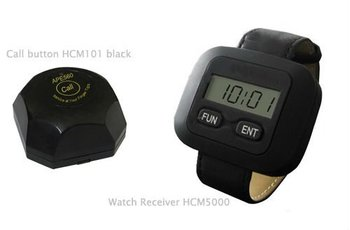 guest pager system in restaurant for 20 tables and 4 waiters (any qty is ok)