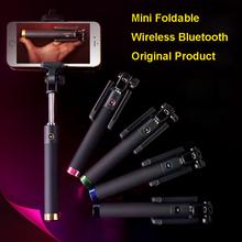 Sale!2015 Camera Photo Wireless Bluetooth Remote Foldable Monopod ORIGINAL Selfie Stick For Samsung S6 EAGE + S5/NOTE5/4/3/A5/A7