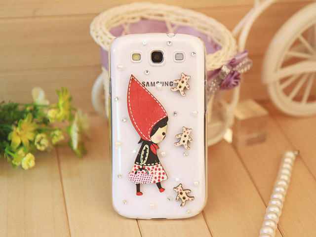 new Hoodwinked top quanlity 100% handmade bling case for samsung galaxy s3 i9300 diamond cases