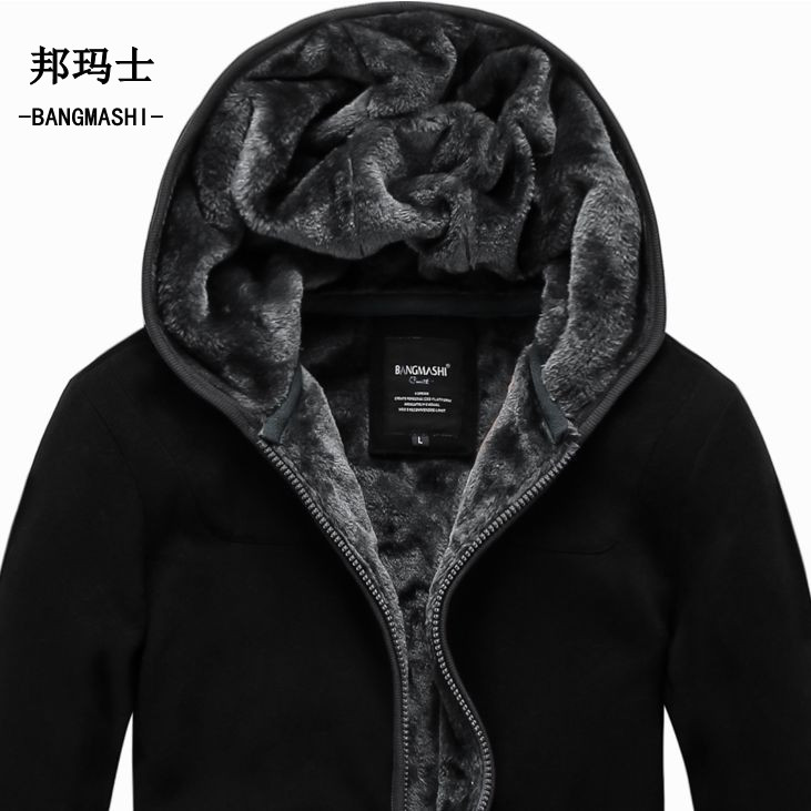 2016 Autumn Winter Coats Jackets Men's Hoodies Plus Size Cardigan Men Cotton 5Xl 6Xl A018 - S&M Fashion Street store
