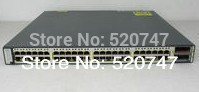 New Cisco WS-C3750E-48TD-S 48/10/100/1000 +2X10G SFP Gigabit Switch,clean(China (Mainland))