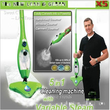 SweetCT Multifunctional Steam Mop Hand-Held Garment Steamer Window Cleaner Duster Cleaning Machine + Free Shipping(China (Mainland))